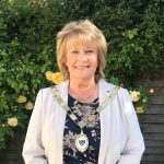 Councillor Linda Ashley the new mayor